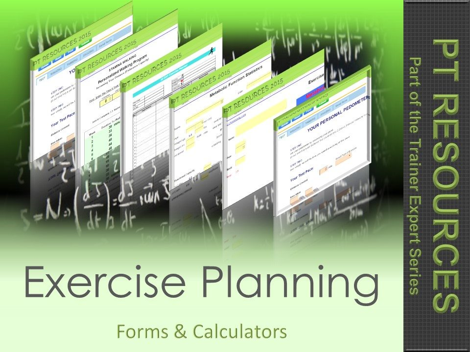 exercise-planning-forms